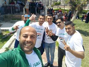المصري البورسعيدي يحشد جماهيره للمشاركة في الاستحقاق الدستوري.. وبرلماني يقود الجماهير للجان