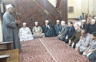 المنوفية تحتفل بليلة النصف من شعبان بالمسجد العباسي بشبين الكوم |صور