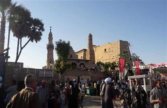 الآلاف من أهالي الأقصر يحتفلون بالليلة الختامية لسيدي أبو الحجاج الأقصري | صور