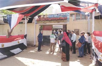 المواطنون يتوافدون على اللجان للمشاركة في استفتاء التعديلات الدستورية بحدائق القبة| صور