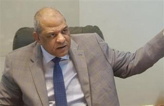 """مساعد وزير الداخلية يتفقد الإجراءات الأمنية بلجان """"الاستفتاء"""" بمطار القاهرة"""
