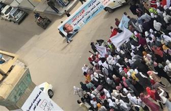 إقبال متزايد بمناطق ناصر الثورة بالوادي الجديد على لجان الاستفتاء على التعديلات الدستورية