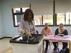 نبيلة مكرم: اليوم عرس حقيقي يتشارك المصريون فيه بالداخل والخارج| صور