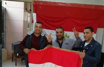 المصريون يدلون بأصواتهم في الاستفتاء على التعديلات الدستورية في بيروت