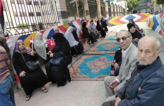 مشاركة كبيرة للمرأة على لجان الاقتراع بدمياط