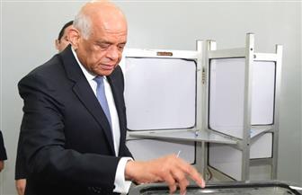 علي عبدالعال يدلي بصوته في الاستفتاء.. ويؤكد: التعديلات الدستورية تعكس قناعة المواطنين بالإصلاح