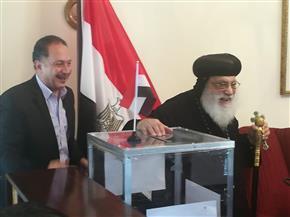 ممثلو الكنيسة المصرية في جوهانسبرج يدلون بأصواتهم في جنوب إفريقيا | صور وفيديو