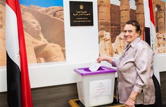 أبناء الجالية المصرية في سيدني يشاركون في الاستفتاء على التعديلات الدستورية   صور