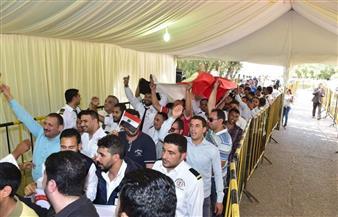 سفارات مصر بالسعودية والكويت والبحرين وروسيا وأوغندا وأوكرانيا تبدأ اليوم الأخير للاستفتاء   صور
