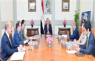 الرئيس السيسي يبحث مع مدبولي والملا محاور خطط وزارة البترول لتطوير صناعة البتروكيماويات