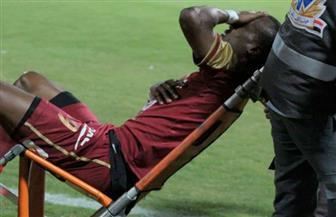 الأشعة تحدد إصابة جون أنطوى قبل مباراة المقاصة وبيراميدز