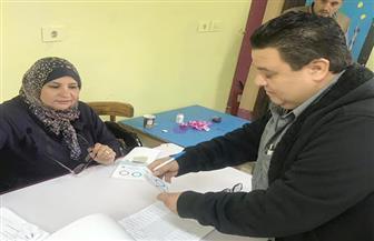 المخرج خالد جلال يدلي بصوته في الاستفتاء على التعديلات الدستورية