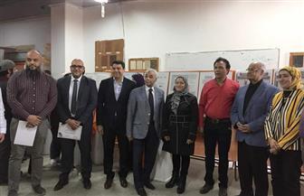 غرفة الأثاث تشارك فى برنامج لربط الصناعة بالتعليم بجامعة حلوان | صور