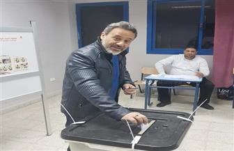 إيهاب فهمي يشارك في الاستفتاء الدستوري