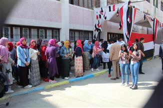 إقبال كبير من الناخبين بالإسماعيلية في ثاني أيام التصويت على التعديلات الدستورية
