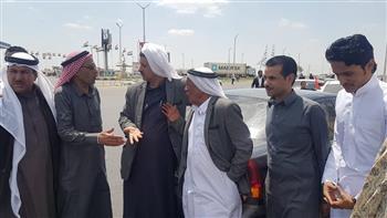 أبناء القبائل العربية بالإسماعيلية ينظمون مسيرة إلى لجان الاستفتاء على التعديلات الدستورية