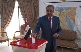 رئيس جامعة الأزهر يدلي بصوته في سفارة مصر بالبحرين.. ويؤكد: خطوة مهمة لاستكمال برنامج الإصلاح