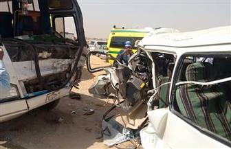 إصابة 19 عاملا بشركة فوسفات أبو طرطور في حادث مروري