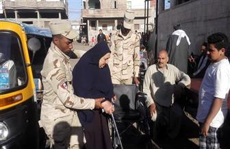 كبار السن والسيدات في صدارة المشهد فى الاستفتاء بالغربية | صور