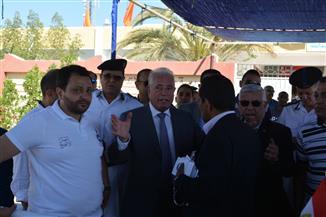 إقبال كبير من المواطنين على لجان الاقتراع بجنوب سيناء.. وسيدة معمرة تدلي بصوتها   صور