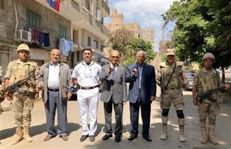 وزير النقل الأسبق يدلي بصوته في الاستفتاء على التعديلات الدستورية   صور