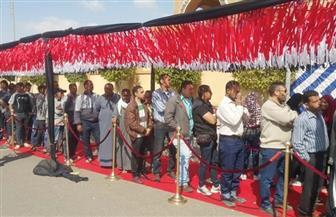 """عمليات """"مستقبل وطن"""" بالقاهرة: إقبال كبير من الشباب على لجان الاستفتاء في اليوم الثاني بالقاهرة الجديدة   صور"""