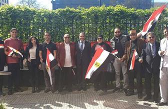 استمرار توافد المصريين على مقار الاستفتاء الثلاثة بألمانيا فى اليوم الأخير للاقتراع | فيديو وصور