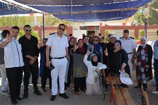 """عمليات """"مستقبل وطن"""" بجنوب سيناء ترصد إقبال الناخبين على لجان الاستفتاء في اليوم الثاني   صور"""