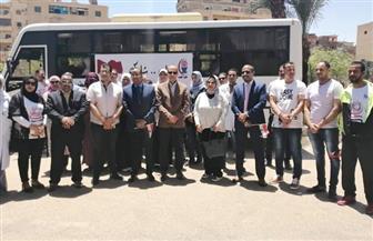 كلية طب أسوان والمستشفيات الجامعية تنقل العاملين للاستفتاء على التعديلات الدستورية