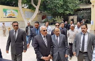 وزير التنمية المحلية: المشاركة في الاستفتاء تعكس صورة مصر أمام العالم وحالة الاستقرار والأمن | صور
