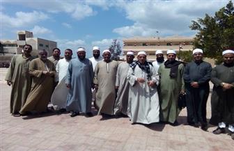 عشرات الأئمة بكفر الشيخ ينظمون مسيرة لحث المواطنين على المشاركة في الاستفتاء   صور