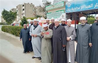 أئمة شمال سيناء يشاركون في الاستفتاء على التعديلات الدستورية | صور