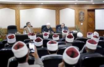 الإمام الأكبر: أكاديمية الأزهر لتأهيل الأئمة والوعاظ تعمل على مجابهة الفكر بالفكر