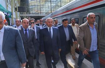 اليوم.. وزير النقل يتفقد محطة الجيزة