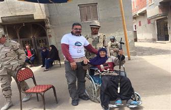 حضور ملحوظ لكبار السن في الاستفتاء على التعديلات الدستورية بكفرالشيخ | صور