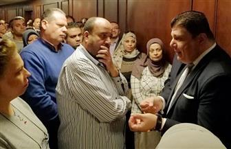 """أبناء """"الوطنية للإعلام"""" يصوتون في """"الاستفتاء"""" بلجان """"ماسبيرو"""".. وزين يصحح للعاملين بعض الشائعات"""