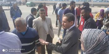 جامعة القناة تشارك في التصويت على التعديلات الدستورية فى اليوم الأخير للاستفتاء