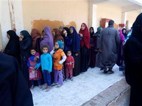 """""""القومي للمرأة"""" بالمنيا يتابع عملية الاستفتاء على التعديلات الدستورية"""