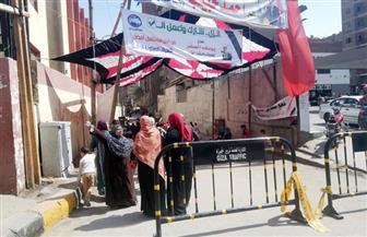 فتح اللجان أمام المواطنين بالعمرانية للإدلاء بأصواتهم على التعديلات الدستورية