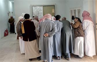 استمرار توافد المواطنين على لجان الاستفتاء في اليوم  الثالث بمطروح  صور