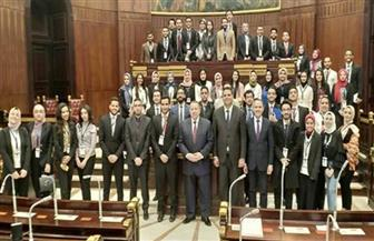 طلاب جامعة الإسكندرية يشاركون في نموذج محاكاة لاجتماعات مناقشة التعديلات الدستورية | صور