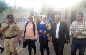 نائب محافظ القليوبية فى جولة بعدد من لجان الاستفتاء بمدينة بنها |صور