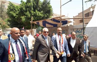 محافظ الجيزة يتفقد لجان الاستفتاء ببولاق وكرداسة وأوسيم ومنشأة القناطر | صور