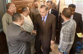 محافظ أسيوط يتفقد لجان الاستفتاء على التعديلات الدستورية بقرية درنكة | صور