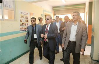 محافظ كفر الشيخ يتفقد لجان مركز الرياض بالمدارس ويناشد المواطنين بالنزول والمشاركة | صور