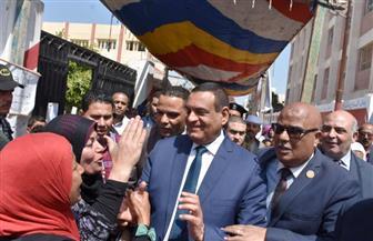 محافظ البحيرة يشارك في مسيرة بمركز أبو المطامير لحث المواطنين على المشاركة في الاستفتاء | صور