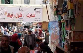الحركة الوطنية بالإسكندرية أمام لجان الاستفتاء: مصر بخير وشبابها يرسمون مستقبلها