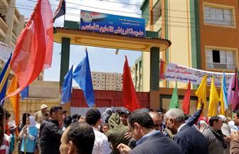 إقبال ملحوظ بلجان الاستفتاء على التعديلات الدستورية في كفرالشيخ | صور