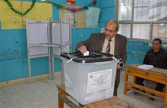 القائم بأعمال رئيس جامعة الفيوم يدلي بصوته في الاستفتاء على التعديلات الدستورية | صور