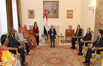 الرئيس السيسي: الارتقاء بحقوق الإنسان يمثل أحد أهم الأولويات الوطنية استنادا لرؤية مصر 2030